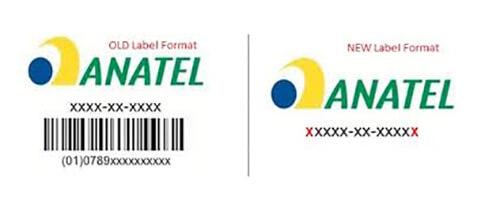 ANATEL认证标签