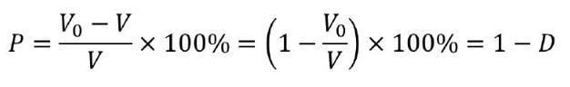 孔隙率计算公式