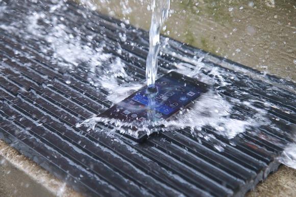 手机防水测试