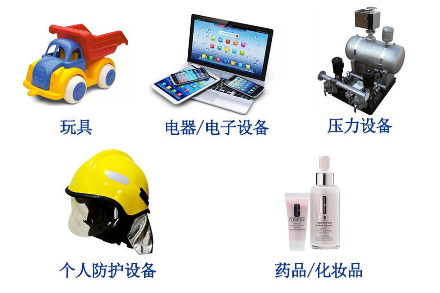 涉及新规常见CE标志产品