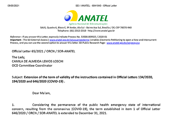 Affected by the epidemic, Brazil's ANATEL certification simplifies the certification process again